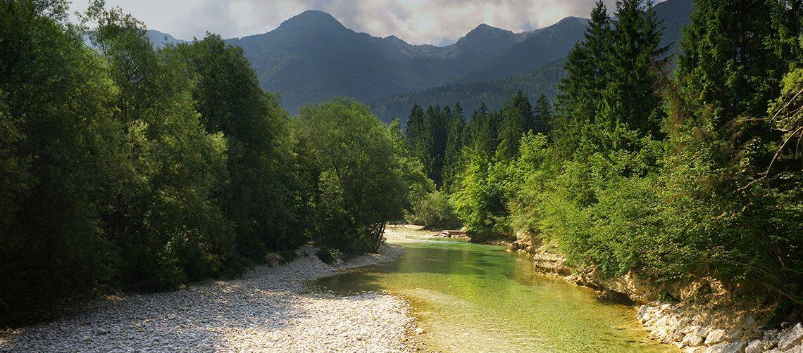 Waters walk in Slovenia by Helia