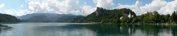 Walking in Slovenia - Lake Bled